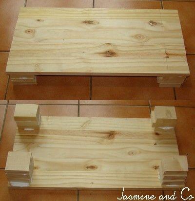 Id e pour fabriquer un step fitness jasmine and co - Marchepied en bois ...
