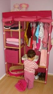 chambre rose de fille