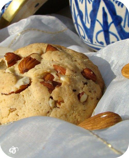 cookies aux amandes dazahid