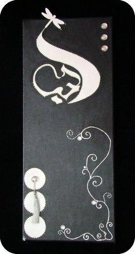 Tableau peinture calligraphie arabe