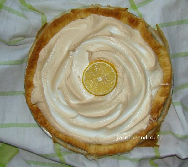 Tarte aux citrons meringu e et lait concentr jasmine and co - Tarte aux citrons meringuee facile ...