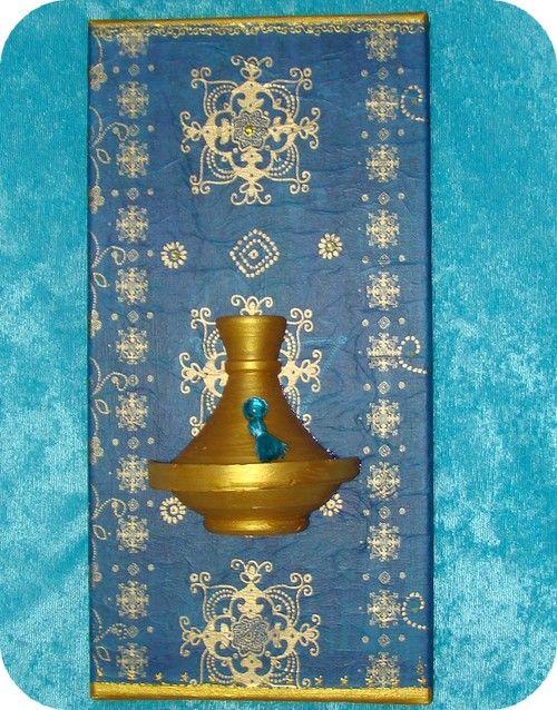 tableau oriental home d co marocain jasmine and co diy et tuto de d coration orientale. Black Bedroom Furniture Sets. Home Design Ideas