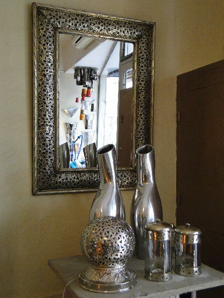 Miroir oriental marocain jasmine and co for Salon de the orientale