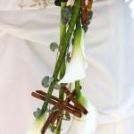 bouquet mariée oriental canelle