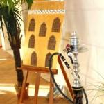 décoration orientale  plan table mariage