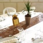idée déco table mariage orientale