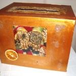 idée urne mariage oriental