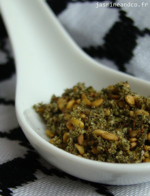 Grissini l huile d olive et au zaatar de palestine for Plante zaatar