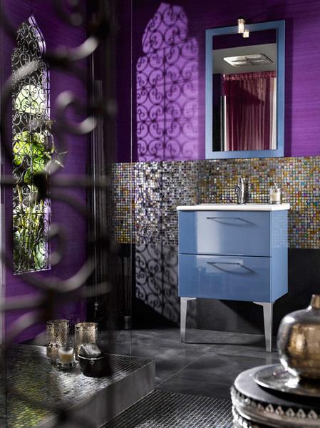 Décoration orientale et marocaine pour une salle de bain - Jasmine ...