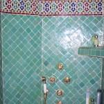 faience zellige salle de bain maroc décoration orientale