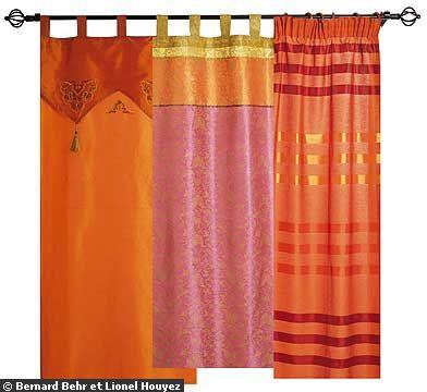 Décoration orientale : le top 10 des plus beaux rideaux - Jasmine ...