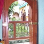riad bois ancien marrakech