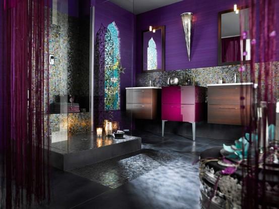 dcoration orientale et marocaine pour une salle de bain - Salle De Bain Marocaine Moderne