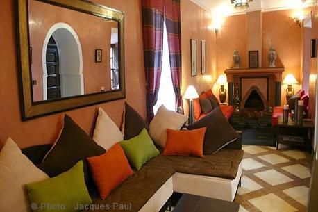 riad marrakech decoration orientale photo - Decoration Orientale Moderne Salon