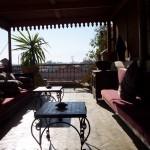 terrasse riad marocain