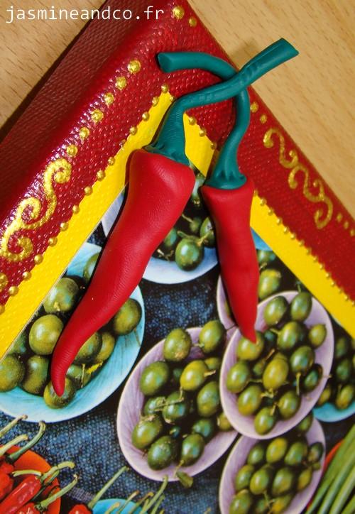 Tableau home d co pour la cuisine jasmine and co - Tuto home deco tableau ...