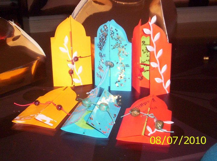 Fabriquer une carte de voeux parfum e pour ramadan a d - Carte de voeux a fabriquer ...