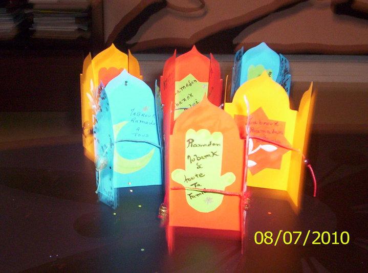 Fabriquer Une Carte De Voeux Parfum E Pour Ramadan A D Jasmine And Co