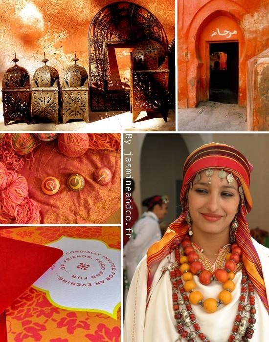 Inspiration  6   décoration marocaine orange. 19 12 2010 26 11 2012 Jasmine.  Quand ... 2845583cb21