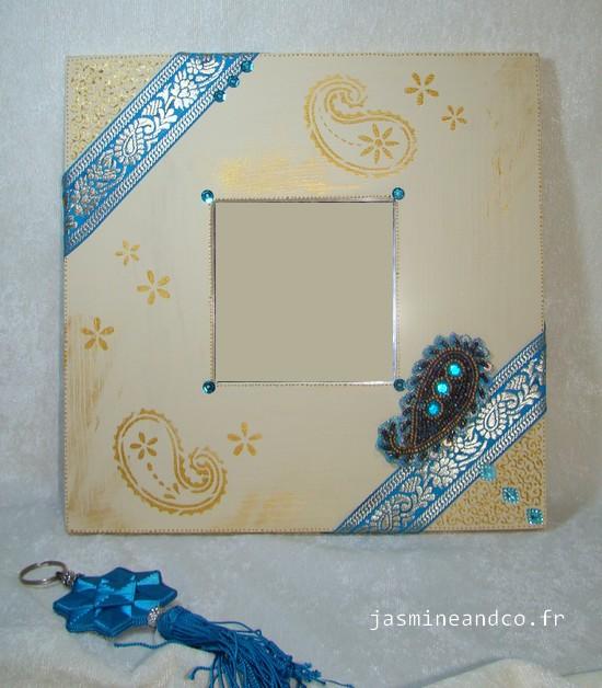 Tuto   Le miroir oriental avec paisleys - Jasmine and Co - DIY et ... 717825bfd4e