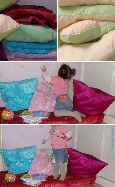 am nager un coin lecture pour enfant conseils et recyclage jasmine and co diy et tuto. Black Bedroom Furniture Sets. Home Design Ideas