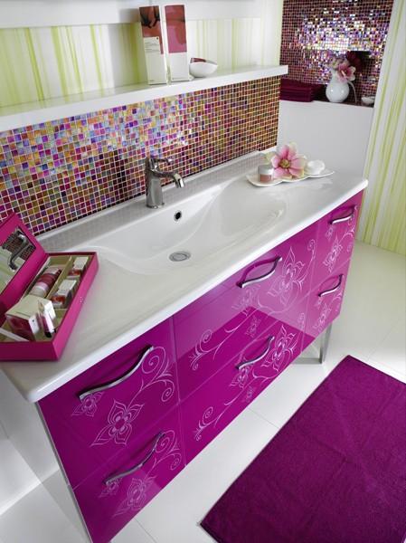 Salle de bain Médina, pour une déco marocaine acidulé