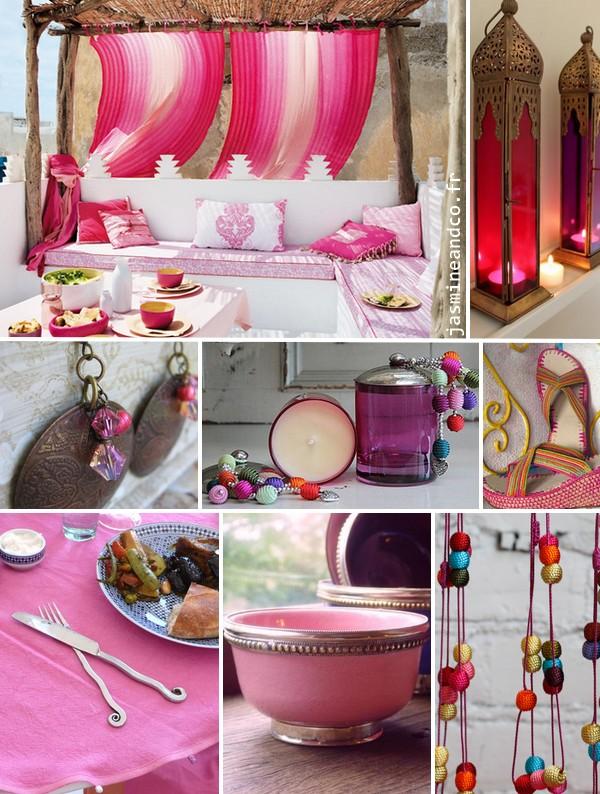 Inspiration orientale un cama eu de rose jasmine and co for Decoration orientale maison