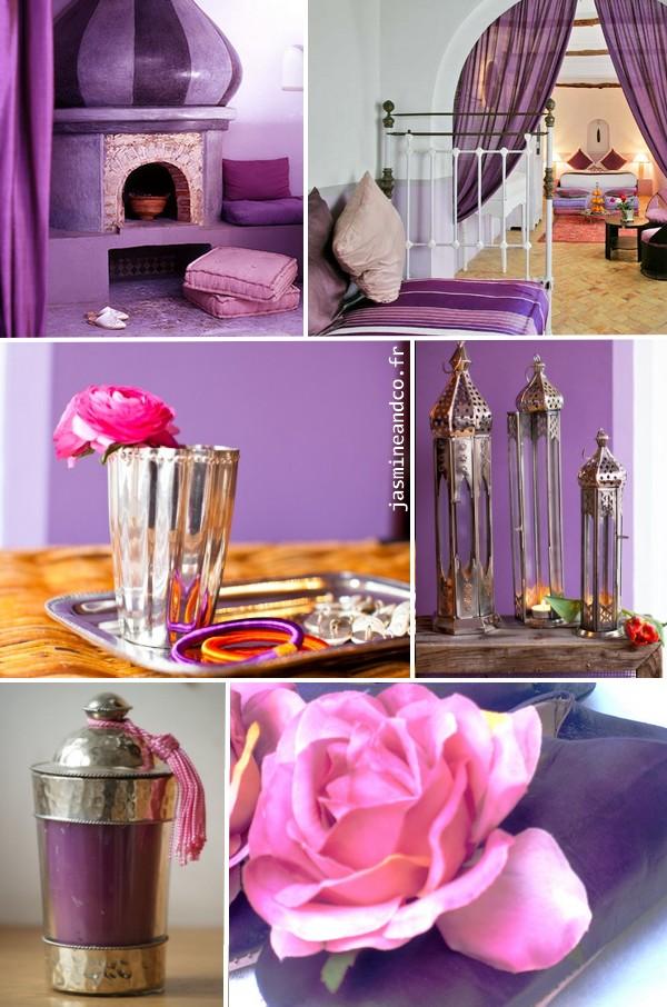 d coration marocaine inspiration lila jasmine and co. Black Bedroom Furniture Sets. Home Design Ideas