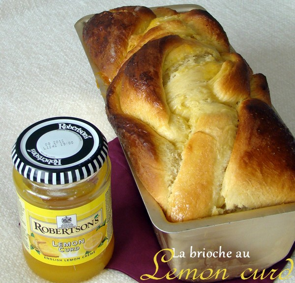 Brioche tress e au lemon curd machine pain jasmine and co - Brioche avec machine a pain ...