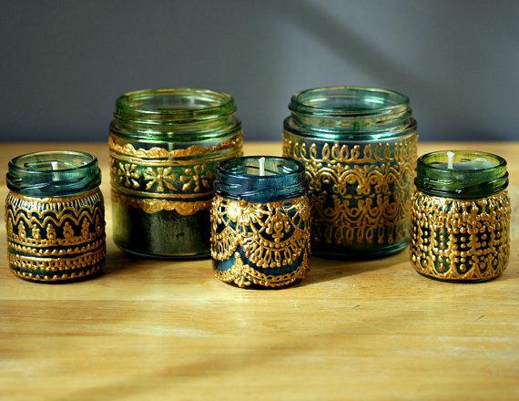 pot en verre fa on lanterne marocaine jasmine and co. Black Bedroom Furniture Sets. Home Design Ideas