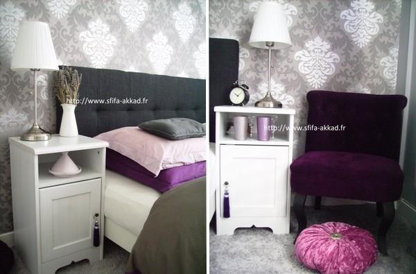 Chambre à coucher  Un mélange de baroque et de Maroc