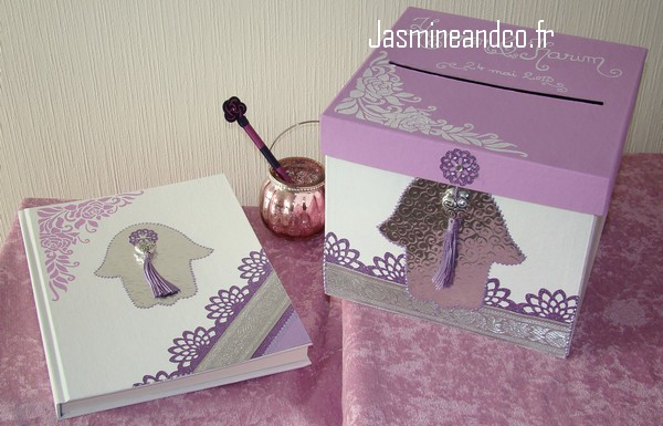 livre d 39 or et urne pour mariage oriental jasmine and co diy et tuto de d coration orientale. Black Bedroom Furniture Sets. Home Design Ideas