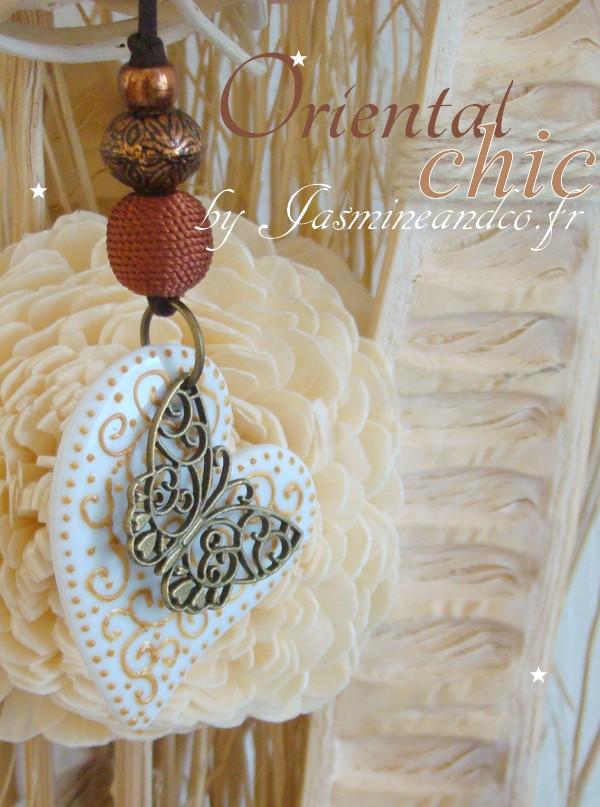 décoration orientale papillon arabesque