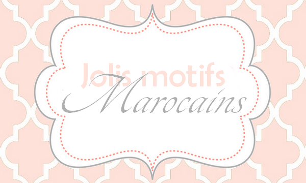 Des motifs marocains gratuits - Jasmine and Co - DIY et tuto de ... e052015c48c