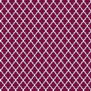 motif marocain prune
