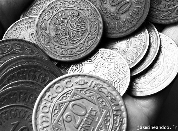 pièce de monnaie tunisie