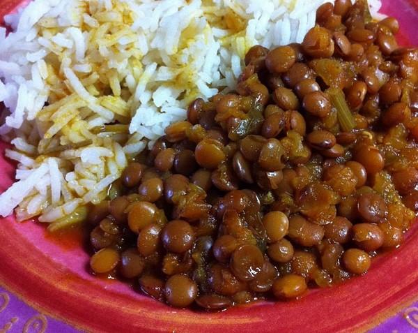 Recette des lentilles la marocaine jasmine and co - Recette comment cuisiner les lentilles ...