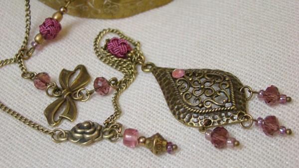 sautoir orientale collier bijou