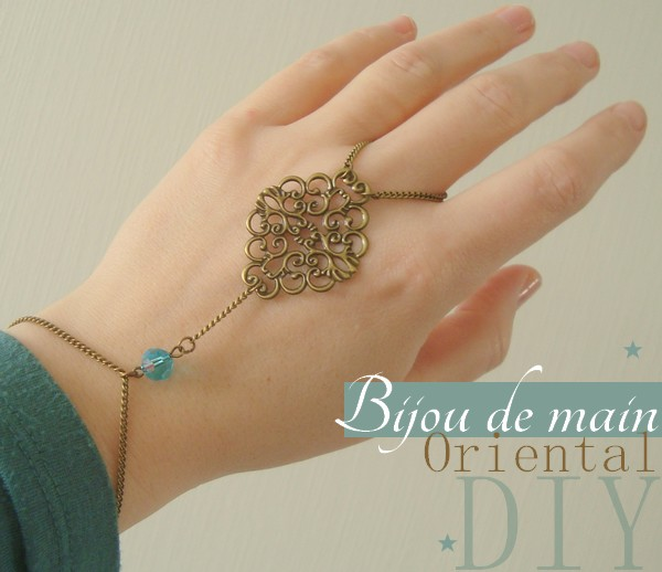 bijou de main oriental