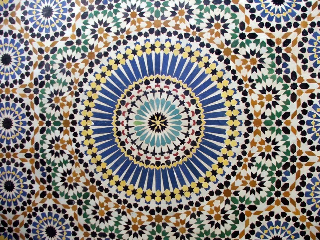 zellige marocain modèle