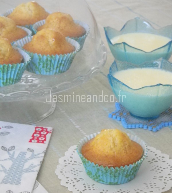 Muffin facile au miel et yaourt