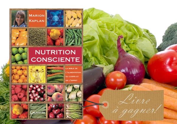 Livre nutrition consciente de marion kaplan