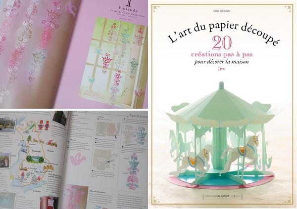 livre l'art du papier découpé