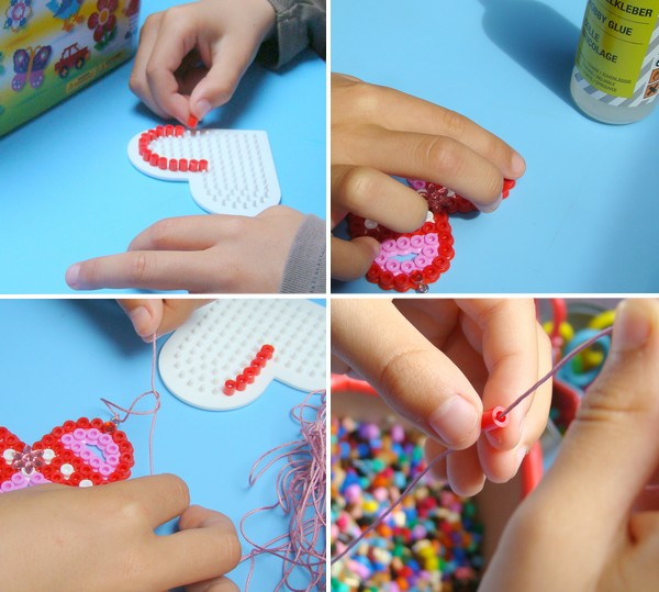 collier perle hama DIY