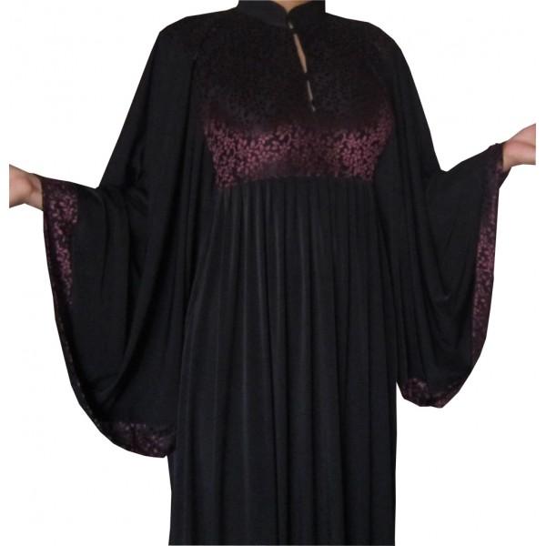 abaya-bassima-bordeaux