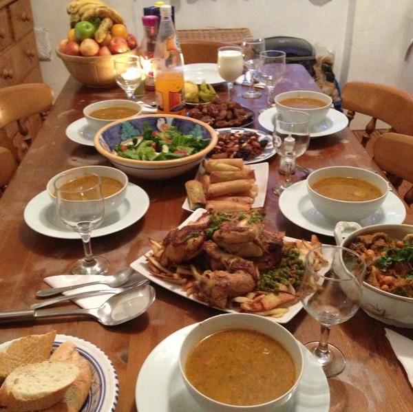 idée table ftour
