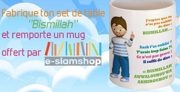 mug enfant bismillah