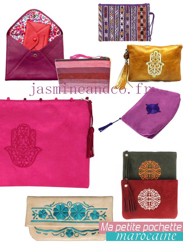 pochette marocaine