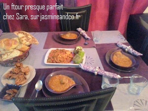 table de ftour