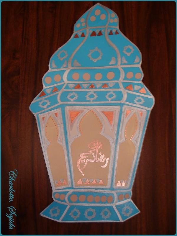 lanterne papier ramadan